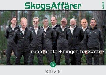 Truppförstärkningen fortsätter - Rörvik Timber