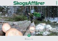 SkogsAffärer Nr 1-2012.pdf - Rörvik Timber