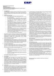 Wartungsvertragsbedingungen - EDV Service GmbH Putbus