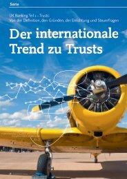 Serie - Der internationale Trend zu Trusts - solutionproviders