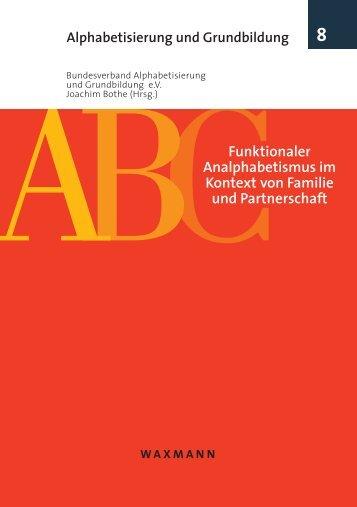 Funktionaler Analphabetismus im Kontext von Familie und ...