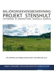 Miljökonsekvensbeskrivning, februari 2012 - Rabbalshede Kraft