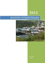 KYSTSTI TVEDESTRAND - Friluftsrådet Sør