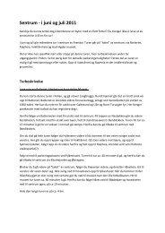 Turbeskrivelse - Friluftsrådet Sør