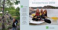 årsberetning 2010 - Friluftsrådet Sør