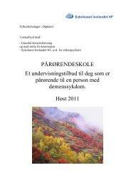 Gausdal - Sykehuset Innlandet HF