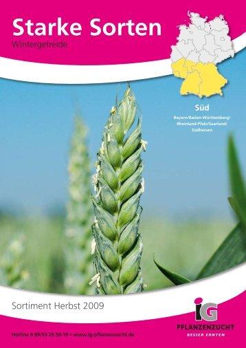 Starke Sorten - IG Pflanzenzucht