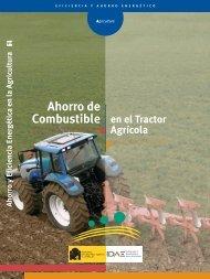 Ahorro de combustible en el tractor agrícola