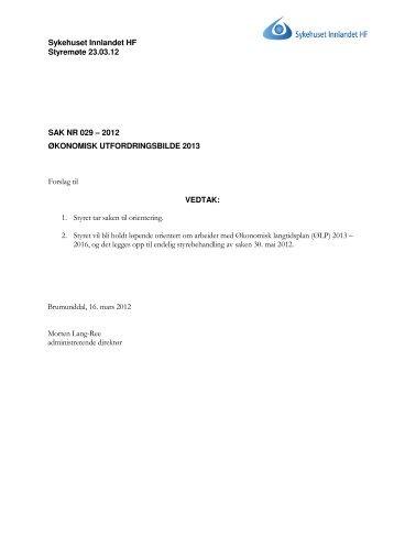 SM_032012_029-2012 Utfordringsbilde.pdf - Sykehuset Innlandet HF