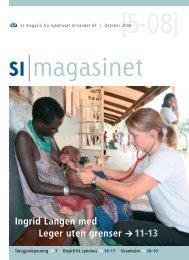 SI Magasinet nr 5-2008 - Sykehuset Innlandet HF
