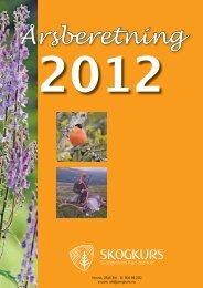 Årsberetning - Skogbrukets kursinstitutt