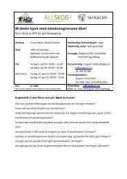 Mer info om kurset!