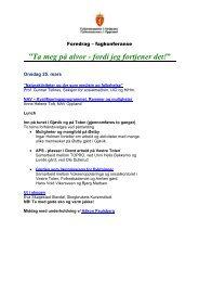 Last ned program med link til foredrag (pdf) - Skogbrukets kursinstitutt