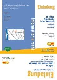 Im Fokus - Kommunikation Land Steiermark