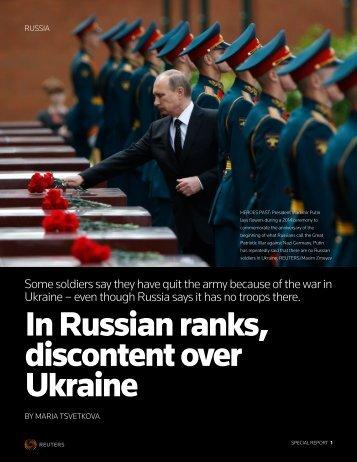 UKRAINE-CRISIS:SOLDIERS