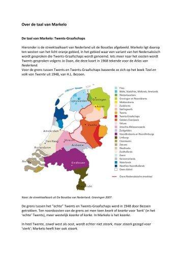 Over de taal van Hellendoorn - De Taal van Overijssel