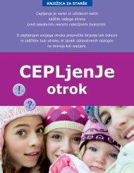 Cepljenje otrok - IVZ RS