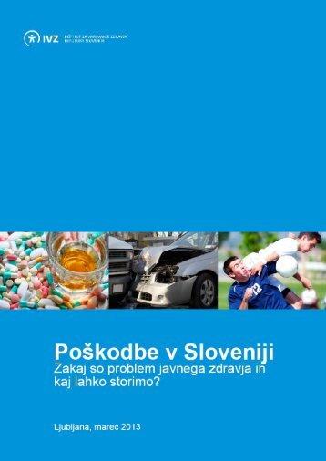Publikacije Poškodbe v Sloveniji - IVZ RS