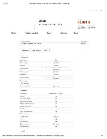 Audi 45.607 €