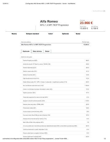 Alfa Romeo 23.966 €