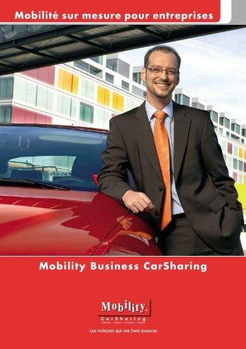 Mobility Business CarSharing Mobilité sur mesure pour ... - mobitool
