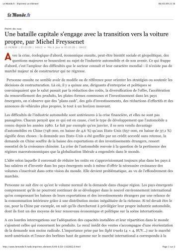 Une bataille capitale s engage.pdf - Michel Freyssenet