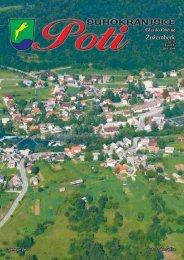 Suhokranjske poti, april 2009 - Občina Žužemberk