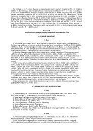Odlok o ustanovitvi - Občina Žužemberk