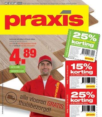 Praxis folder 11 t/m 20 mei 2015