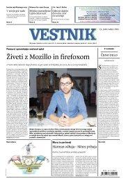 Živeti z Mozillo in firefoxom - Vestnik