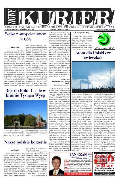 July 2008r No 14 956 Nowy Kurier