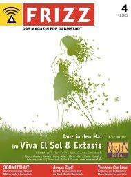 FRIZZ - Das Magazin für Darmstadt - 4 / 2015
