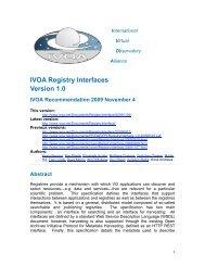 IVOA Registry Interfaces Version 1.0