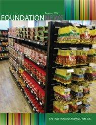 November Newsletter.indd - Cal Poly Pomona Foundation