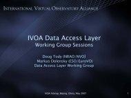 IVOA Data Access Layer