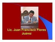 Lic. Juan Francisco Flores Juárez - Corte de Constitucionalidad