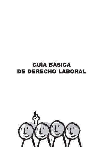 GUÍA BÁSICA DE DERECHO LABORAL - CCOO de Catalunya