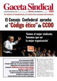 Gaceta Sindical - CCOO