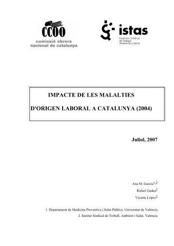 estudi - CCOO de Catalunya