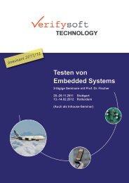 Programm und Anmeldeformular - Verifysoft Technology GmbH