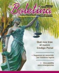 laboletina 73.indb - Sidoc - Fundación Puntos de Encuentro