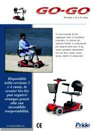 Disponibile nella versione 3 e 4 ruote, lo scooter ... - Ortopedia Paoletti