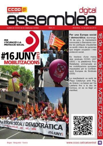 6. Assemblea digital - CCOO de Catalunya