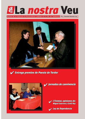 Ley de Dependencia - CCOO de Catalunya
