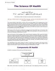 The Science Of Hadith - Hoor al-Ayn
