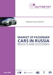 market of passenger cars in russia