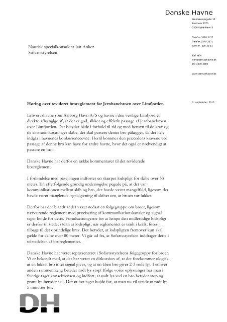 Nautisk specialkonsulent Jan Anker Søfartsstyrelsen - Danske Havne