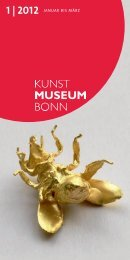 1 | 2012 Januar bis März - Kunstmuseum Bonn