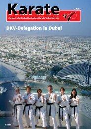 DKV Magazine - Chronik des deutschen Karateverbandes