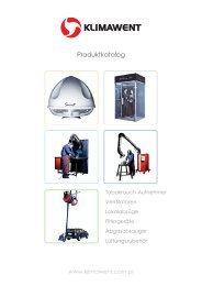 Produktkatalog 2013 - Klimawent